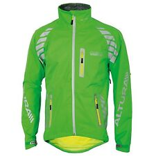 Men's Fabric Cycling Jackets with High Visibility