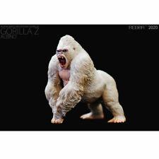 """REBOR Alpha Male Mountain Gorilla """"Gorilla Z"""" (Albino) 1/11 Scale Replica"""