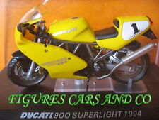 MOTO 1/24 COLLECTION DUCATI 900 SUPERLIGHT 1994  MOTORCYCLE