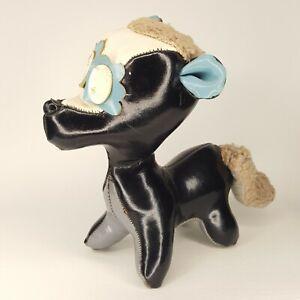 "Dakin Vintage Dream Pets Leather Pets 5"" Skunk Sawdust Plush"