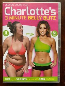 Charlotte's 3 Minute Belly Blitz DVD Geordie Shore Exercise Keep Fit Routine