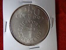 Large commemorative coin - Silver - 1974 - 25 de Abril - 250$
