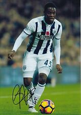 WEST BROM HAND SIGNED JONATHAN LEKO 12X8 PHOTO 1.