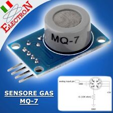 MQ-7 MODULO SENSORE MONOSSIDO DI CARBONIO (CO)CARBON MONOXIDE GAS sensor Arduino