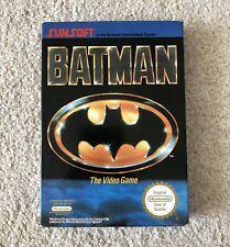 *VGC*  BATMAN - Nintendo NES - Boxed - CIB PAL A + Box Protector