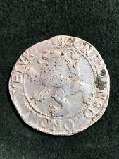 Netherlands, Utrecht, Lion Taler  Leeuwendaalder Löwentaler Silber 1648