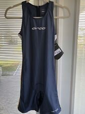 Orca Elite Triathlon One Piece Suit Sz 12 New $125 Navy Gold