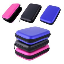 """New Zip-up EVA Carrying Case Pouch Bag For 2.5"""" Portable Hard Drive HDD Protect"""