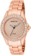 Invicta 14527 Rose Angel Blush 338 Diamond Pave Morganite Accented Womens Watch