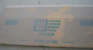 1970-74 NOVA FENDER NEW GM NOS OLD STOCK IN BOX 6258338 RARE