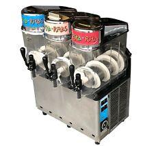 Carpigiani 3 Bowl Slushie Machine Granita Slushie Margarita Machine