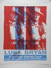Luke Bryan Signed Autograph Original Print Mafia Limited Poster Litho  JSA