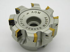Messerkopf  63,0 für APKT 1003 incl. 10 Fräsplatten für Stahl APKT 1003 PDSR -30