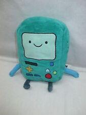 "Cartoon Network ADVENTURE TIME 8"" BMO Beemo Green Stuffed Plush Computer GREAT"