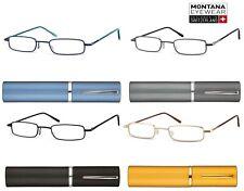 Occhiale da Lettura Montana TR1 con Custodia in Metallo - Tascabile  Stile Retro