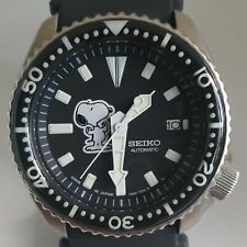 Seiko 7002-7000 Vintage Divers Snoopy Automatic Watch Mod #253