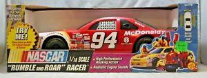 Toy Biz 1:18 Scale Rumble and Roar Racer NASCAR #94 McDonald's 1997 Thunderbird