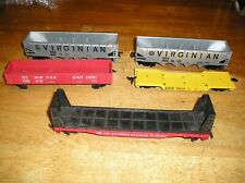 Ho Train Lot 14Vgn5. 5 Tyco Marx Freight Cars
