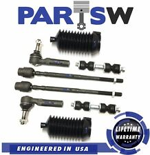 8 Pc Suspension Kit for Buick Chevrolet Oldsmobile & Pontiac Tie Rod Ends Boots