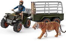 Schleich 42351 Wild Life Quad Bike With Trailer and Ranger Figure