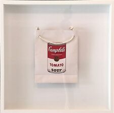 "Andy Warhol ""Tomato Soup Can on a Bag"". Edition of only 250!"