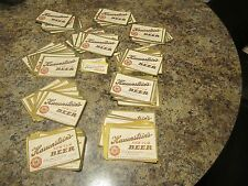 lot of 100  unused  HAUENSTEIN + bonus   10 neck  labels   new ulm MN 12oz