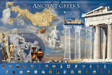 THE ANCIENT GREEKS Classical Greece Civilization Beautiful HISTORY Wall POSTER