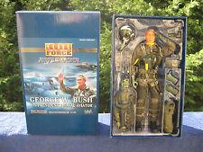 "Elite Force Aviator George W. Bush US President & Naval Aviator 12"" Figure"