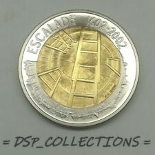 SUISSE / Switzerland - 5 francs 2002 B, ESCALADE bimétallique // UNC