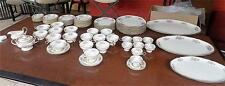 Mint Castleton Bouquet China 77 pcs Service for 8 + 3 Size Serving Platters