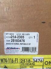 Chevrolet GM OEM 04-11 Aveo-EGR Valve 25183476  Ac Delco 214-2305  New Genuine