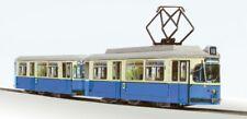 Straßenbahn Modell Tram M-Wagen München o.Werbung , Kartonbausatz, 1:87,H0