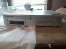 Sylvania SSD800 DVD VHS VCR Combo Video Cassette Recorder Player Works No Remote