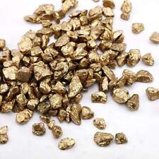 GOLD 2 lbs Crushed Gravel Pebble Stones Decorative Vase Fillers  Decorations