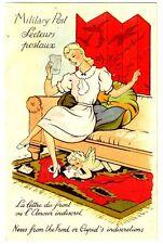 CPA Fantaisie La Lettre du Front ou l' Amour indiscret fantasy postcard