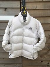 The North Face White Goose Down Women's Puffa Jacket X Small