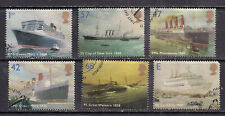 GB 2004 QE2 Ocean Liners set of 6 used stamps  ( H149 )