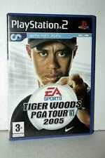 TIGER WOODS PGA TOUR 2005 USATO OTTIMO STATO PS2 VERSIONE INGLESE PAL GP1 39842