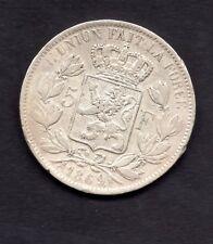 5 FRANCS LEOPOLD II 1869