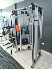 FUNCTIONAL TRAINER Dual Adjustable Pulley Cable Cross Gym Crossover Machine