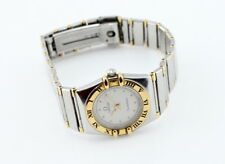 OMEGA CONSTELLATION LADIES WRIST WATCH STAINLESS/GOLD QUARTZ NO RESERVE #2755