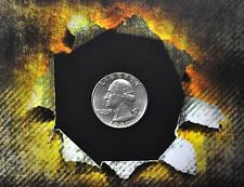 Shim Shell US Quarter Coin for Magic Tricks - Use with Raven or Magnets