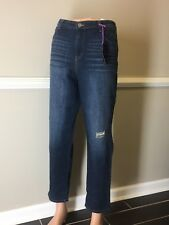 NEW-STYLE & CO BOYFIREND MID RISE JEANS, SZ 16, FREE 3 DAY SHIPPING