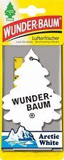 (1,53€/Einheit) 10 STÜCK WUNDERBAUM ARCTIC WHITE LUFTERFRISCHER DUFTBAUM AUTO
