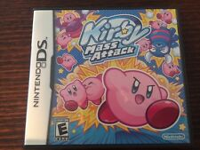 Kirby Mass Attack (Nintendo DS) Complete NTSC Rare Kids