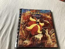 Pokemon 4 Pocket Mappe Ordner Album Flammenmeer Flashfire Pyroleo 2014
