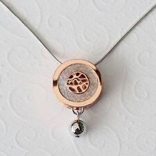 Neu 43cm+5cm SCHLANGENKETTE in silber/rosegold FILIGRAN Edel HALSKETTE Collier