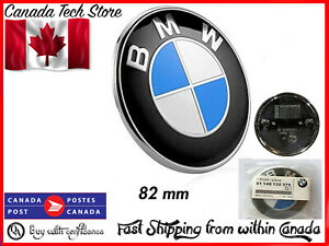 NEW BMW Car Emblem Roundel Hood 82mm Car Round E82 E90 E21 E12 E63 E83 E53 E70 E