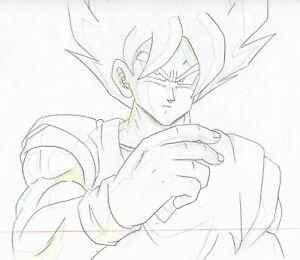 Dragon Ball Z Goku Anime Production CEL Rare Genga