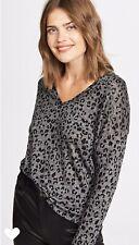 RAILS Sami Leopard Tee Size M